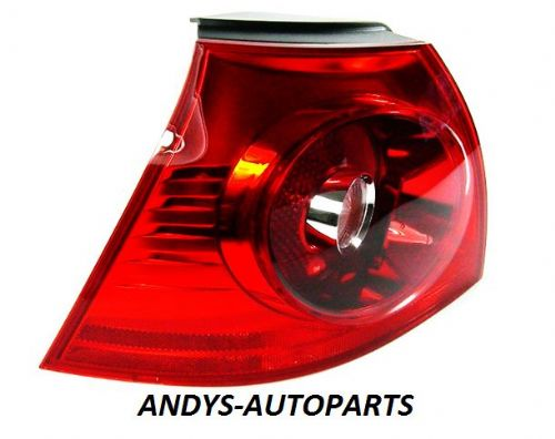 Volkswagen Golf 2004 - 2008  Rear Lamp Outer Section